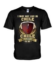 I MAY NOT Chile V-Neck T-Shirt thumbnail