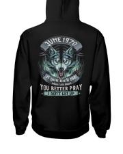 BETTER GUY 70-6 Hooded Sweatshirt back