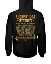MESS WITH YEAR 64-8 Hooded Sweatshirt back