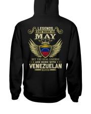Blood Venezuelan 05 Hooded Sweatshirt back