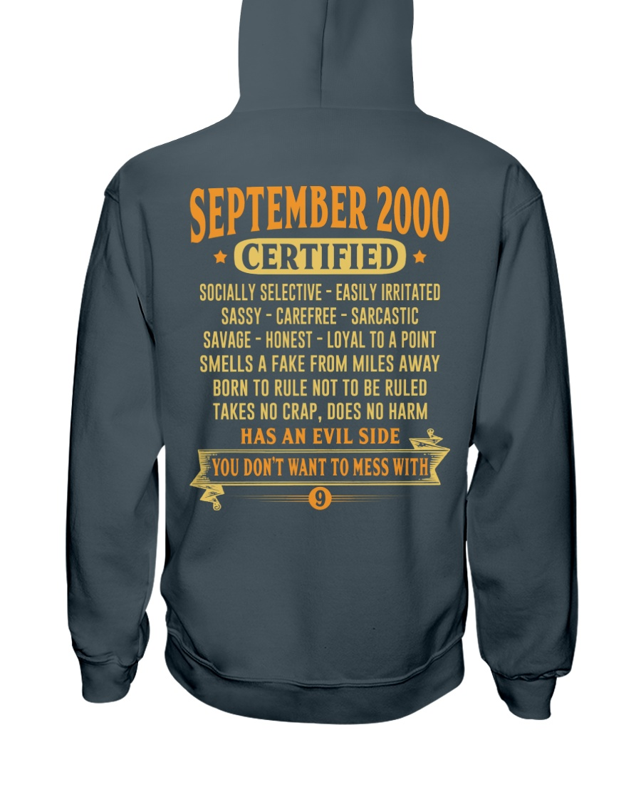 MESS WITH YEAR 00-9 Hooded Sweatshirt