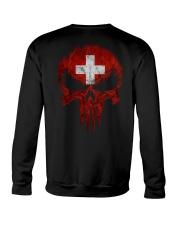 Skull Switzerland Crewneck Sweatshirt thumbnail