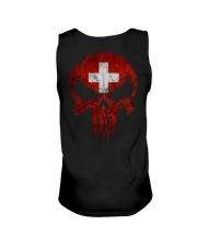 Skull Switzerland Unisex Tank thumbnail