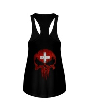 Skull Switzerland Ladies Flowy Tank thumbnail