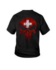 Skull Switzerland Youth T-Shirt thumbnail