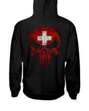 Skull Switzerland Hooded Sweatshirt back