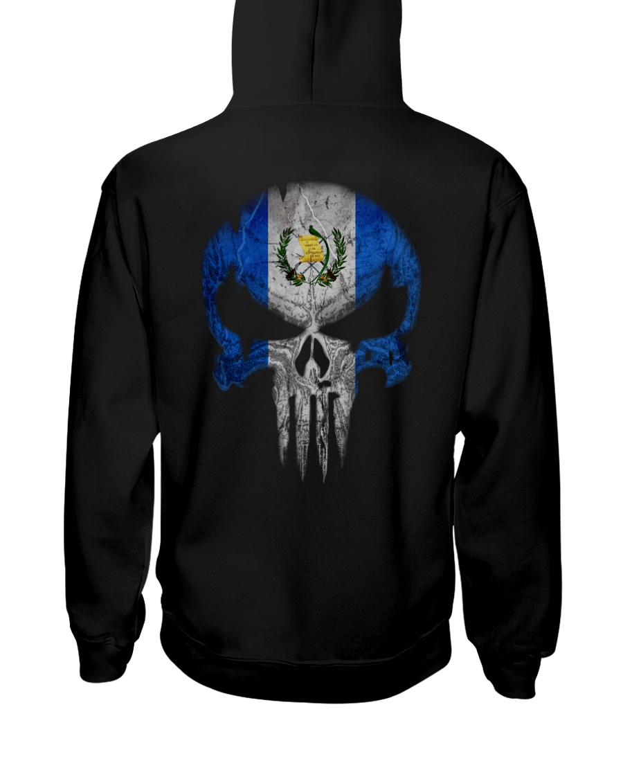 Skull Guatemala Hooded Sweatshirt