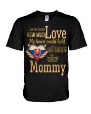 I Never Know- Mommy- Slovakia V-Neck T-Shirt thumbnail
