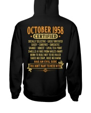 MESS WITH YEAR 58-10 Hooded Sweatshirt back