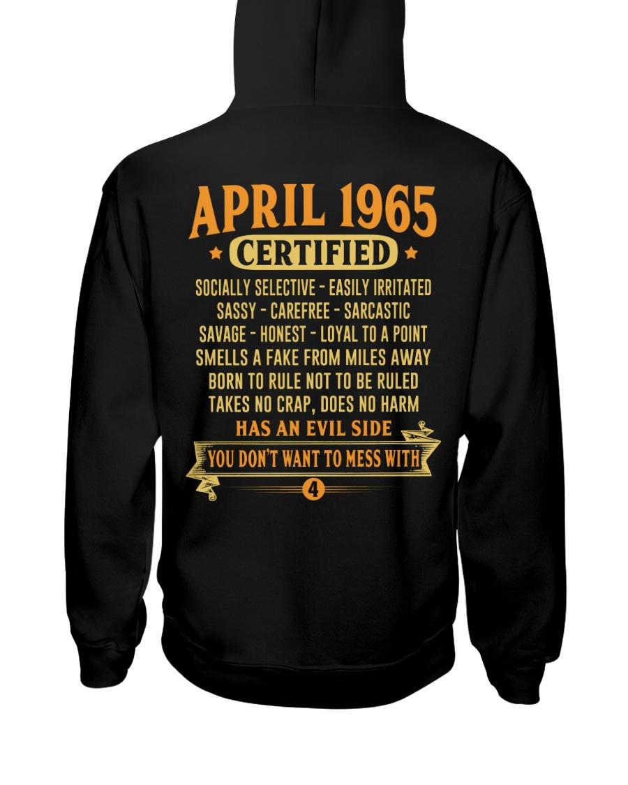 MESS WITH YEAR 65-4 Hooded Sweatshirt