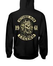 MAN 1961-10 Hooded Sweatshirt back