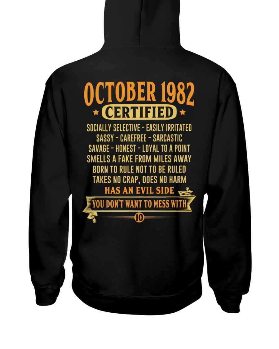 MESS WITH YEAR 82-10 Hooded Sweatshirt