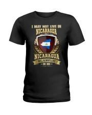 I MAY NOT Nicaragua Ladies T-Shirt thumbnail