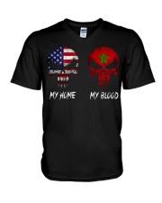 SKULL Morocco V-Neck T-Shirt thumbnail