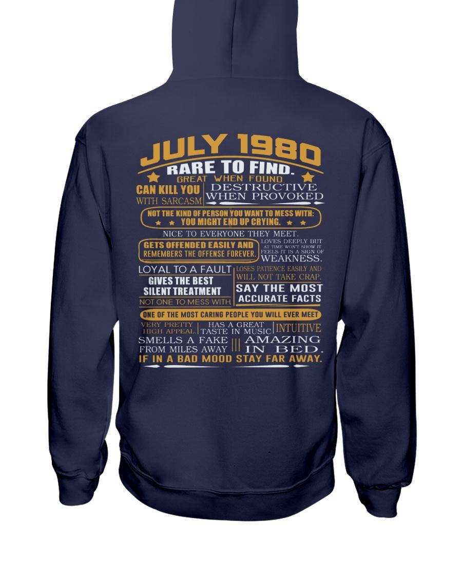YEAR GREAT 80-7 Hooded Sweatshirt