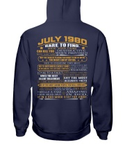 YEAR GREAT 80-7 Hooded Sweatshirt back