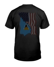 Saint Lucia Premium Fit Mens Tee thumbnail