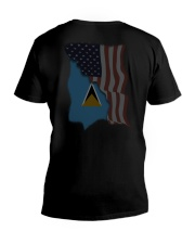 Saint Lucia V-Neck T-Shirt thumbnail