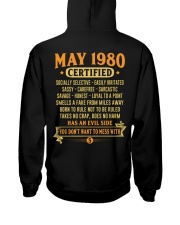 MESS WITH YEAR 80-5 Hooded Sweatshirt thumbnail