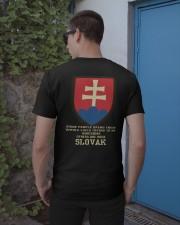 Awesome - Slovak Classic T-Shirt apparel-classic-tshirt-lifestyle-22