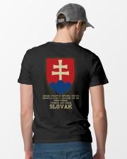 Awesome - Slovak Classic T-Shirt lifestyle-mens-crewneck-back-6