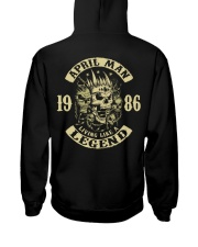 MAN 1986-4 Hooded Sweatshirt back