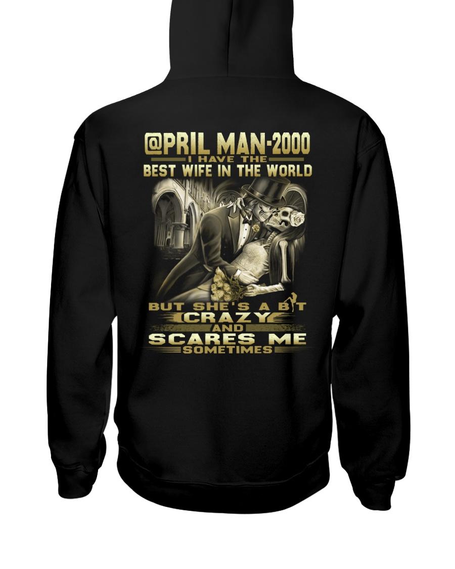 MAN THE WORLD 00-4 Hooded Sweatshirt
