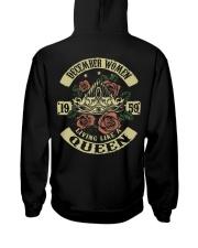 QUEEN 1959 - 012 Hooded Sweatshirt back