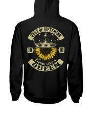 1981-9 Hooded Sweatshirt back