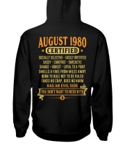 MESS WITH YEAR 80-8 Hooded Sweatshirt back