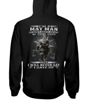 THE MAN 5 Hooded Sweatshirt back