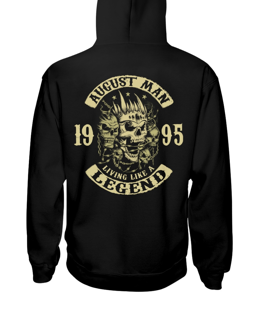 MAN 1995- 8 Hooded Sweatshirt