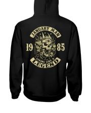 MAN 1985-1 Hooded Sweatshirt back