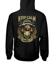 Keep Calm Dad - Sweden Hooded Sweatshirt thumbnail