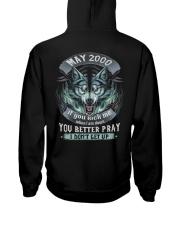 BETTER GUY 00-5 Hooded Sweatshirt back