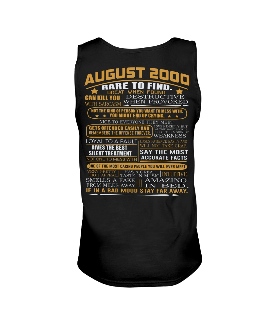 YEAR GREAT 00-8 Unisex Tank