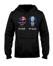 MY HOME SKULL Guatemala Hooded Sweatshirt thumbnail