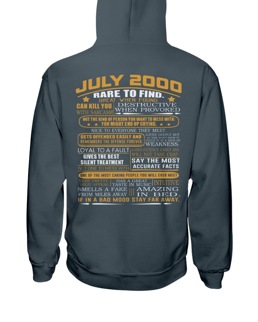 YEAR GREAT 00-7 Hooded Sweatshirt