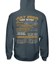 YEAR GREAT 00-7 Hooded Sweatshirt back