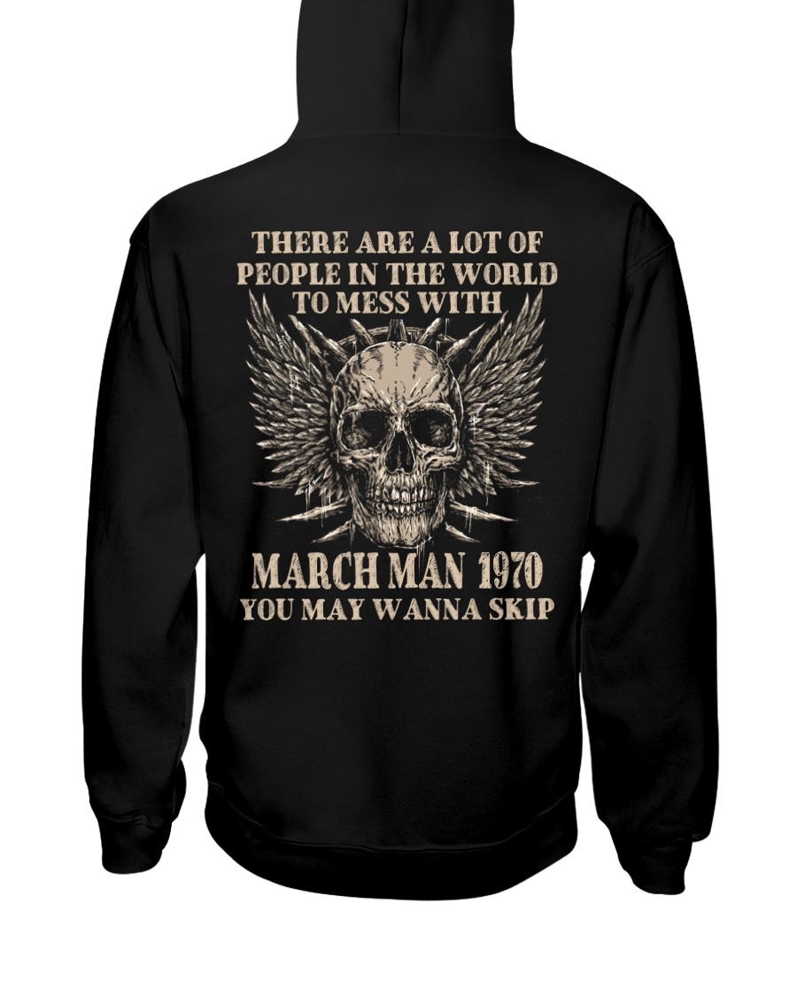 I AM A GUY 70-3 Hooded Sweatshirt