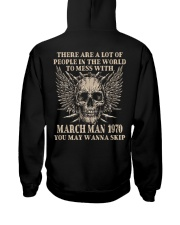 I AM A GUY 70-3 Hooded Sweatshirt back