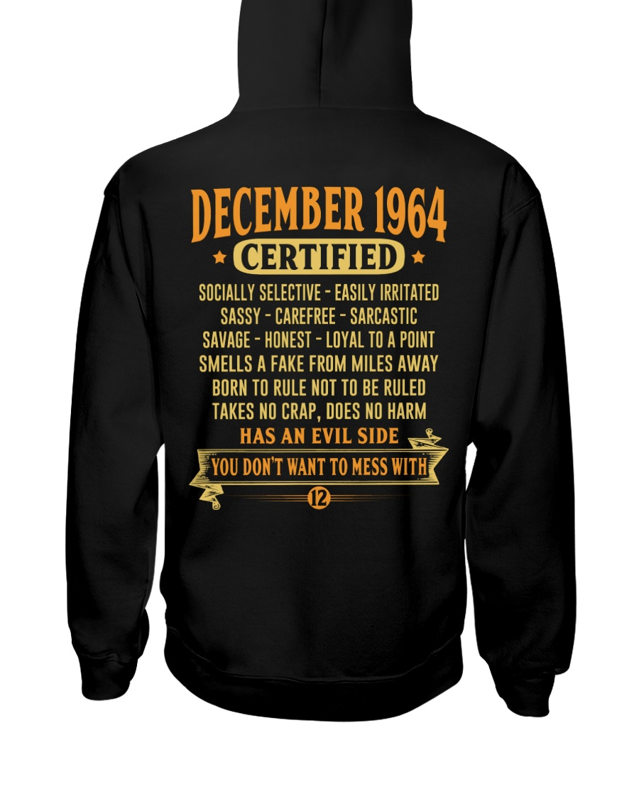 MESS WITH YEAR 64-12 Hooded Sweatshirt