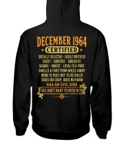 MESS WITH YEAR 64-12 Hooded Sweatshirt back