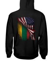 Flag-Lithuania Hooded Sweatshirt back