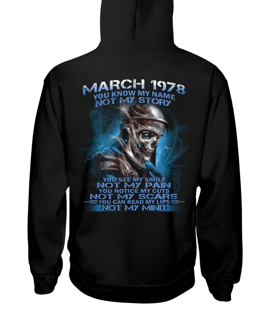 NOT MY 78-3 Hooded Sweatshirt