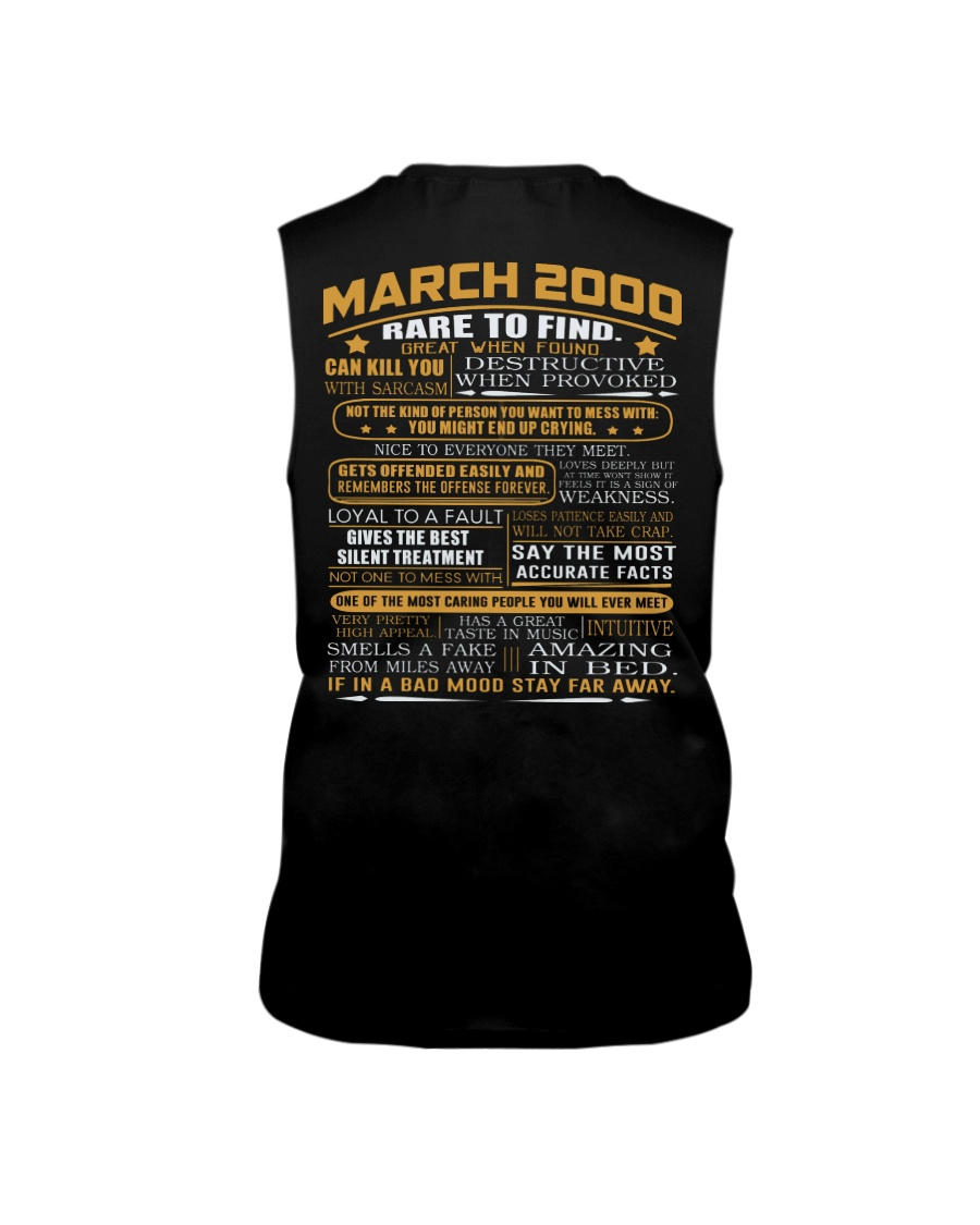 YEAR GREAT 00-3 Sleeveless Tee