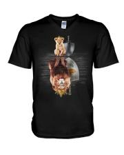 Lion-Cyprus V-Neck T-Shirt thumbnail