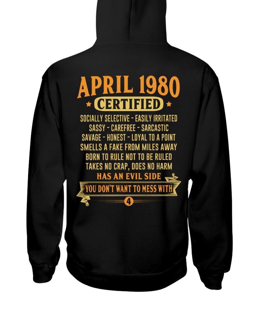MESS WITH YEAR 80-4 Hooded Sweatshirt