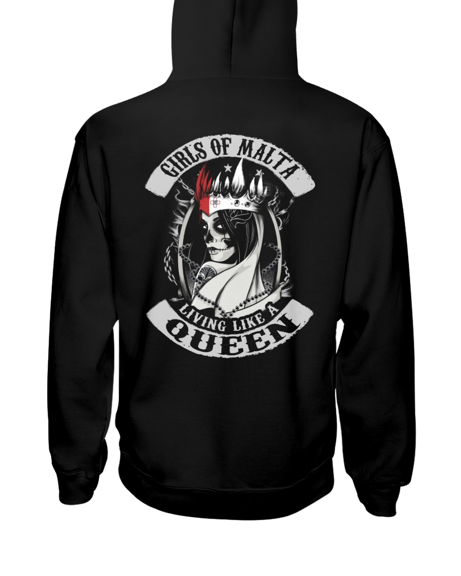 GIRLS OF Malta Hooded Sweatshirt