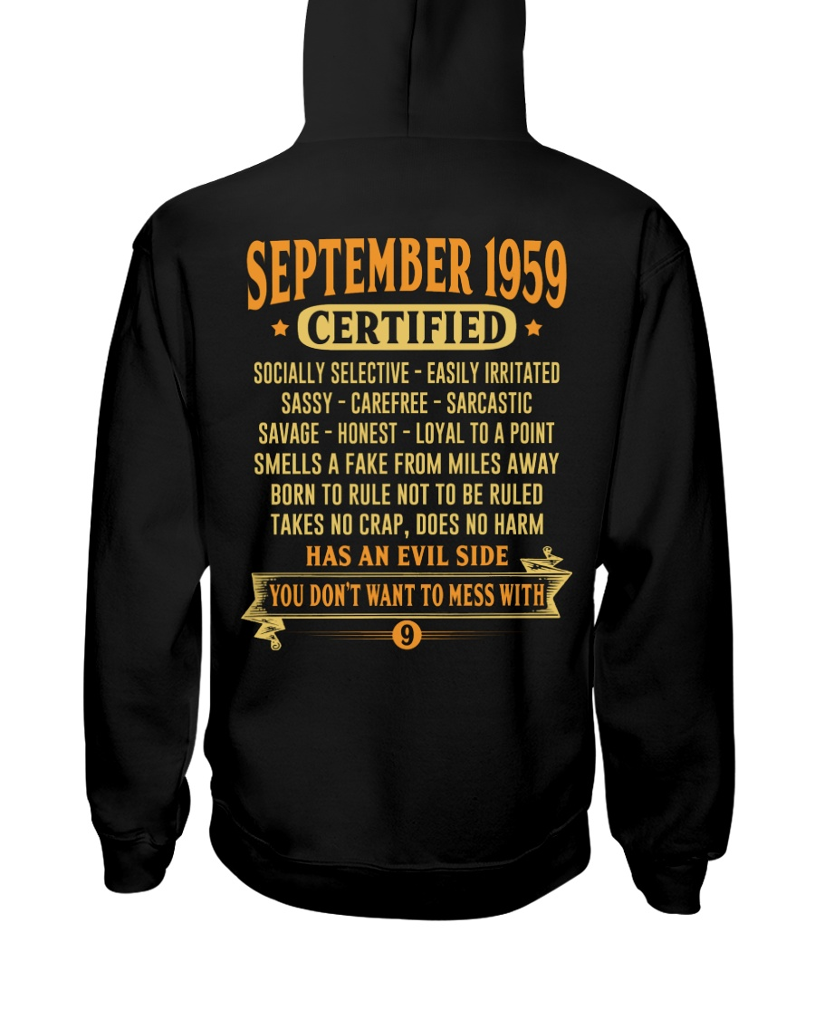 MESS WITH YEAR 59-9 Hooded Sweatshirt